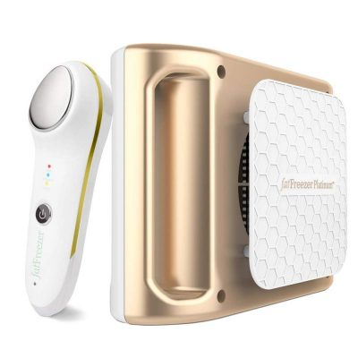 Double Chin and Body at Home Fat Freezing Cryolipolysis System Chin Fat Freezer Gold Pack Neck